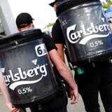 Carlsberg til fodboldkamp - Portugal mod Island.