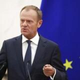 Præsident Tusk foreslår ekstra topmøde om britisk EU-farvel