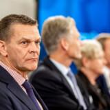 Danske Banks bestyrelsesformand, Ole Andersen, åbnede onsdag for, at han forlader banken i kølvandet på hvidvaskskandalen: »Når arbejdet er gjort, ser jeg ikke noget til hinder for, at jeg også kan gå,« sagde formanden. Foto: Søren Bidstrup