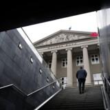 Danske Bank-aktien er på vej ned i kælderen (Foto: Liselotte Sabroe/Ritzau Scanpix)