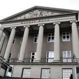 Danske Bank offentliggjorde i sidste uge konklusionerne i den interne advokatundersøgelse, men risikoen for anklager fra udenlandske myndigheder består og dermed også kravet om bøder. Arkivfoto: Liselotte Sabroe/Ritzau Scanpix
