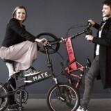 Søskendeparret Christian Adel Michael og Julie Kronstrøm Carton har haft særdeles stor succes på crowdfundingplatformen Indiegogo med deres sammenfoldelige el-cykel Mate Bike – både versionen fra 2016 og X-versionen fra 2018.