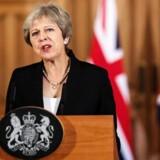 »Jeg har mødt EU med respekt. UK fortjener at blive mødt med det samme,« sagde den britiske premierminister Theresa May under et pressemøde i London 21. september 2018. Foto: Ritzau / Scanpix / Jack Taylor