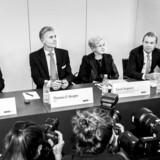Ved Danske Banks pressemøde i forbindelse med offentliggørelsen af bankens interne undersøgelse var der kun mulighed for ét spørgsmål pr. person. Nu får politikerne mulighed for at stille flere uddybende spørgsmål til banken.