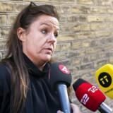 Forsvarer Betina Hald Engmark ved ankomsten til Østre Landsret i København hvor Peter Madsens retssag for drabet på den svenske journalist Kim Wall fortsætter onsdag d. 26 september 2018. (foto: Martin Sylvest/Scanpix Ritzau 2018)