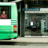 Howard Wilkinson sad som chef for Danske Markets i Baltikum centralt placeret i filialen i Tallinn.