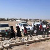 Billede fra Syrien.
