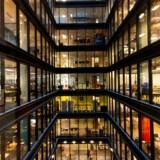 Imponerende og overvældende på én og samme tid er et vue gennem Amazon Prime Videos europæiske hovedkontor i London, hvorfra internetgiganten konstant arbejder på at udbygge sin streamingtjeneste. Foto: Richard Hanson, Amazon