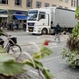 Blomsterkummerne er sat op som et alternativ til de industrielle betongrise, der førhen blokerede for, at biler kunne køre ned ad Købmagergade fra Nørreport.