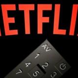 Netflix er den ubestridt største enkeltsluger af internetdata i verden. Arkivfoto: Lionel Bonaventure, AFP/Scanpix