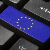 Der skal fra årsskiftet ikke være nationale begrænsninger på, hvor ikke-personfølsomme data kan lagres i EU. Arkivfoto: Iris/Scanpix