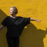 Forfatterinden Helle Helle - fotograferet i hendes hjem ved Sorø