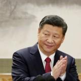 Et nyt forslag vil lade præsidenter i Kina fortsætte længere end den nuværende begrænsning på to perioder.. Det skriver Ritzau, søndag den 25. februar 2018.. (Foto: Jason Lee/Scanpix 2018)