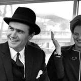 Tronfølgeren prinsesse Margrethe sammen med prins Henrik på Expo udstilling i Montreal Canada 1967