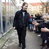 Skolen Ved Søerne Klara Agnethe Toft på 18 år stemmer for første gang