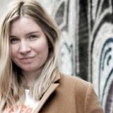 Blogger Kia Ellegaard, der siden 2009 har blogget om sit liv. Nu har hun sagt farvel til et liv uden den daglige online bog over sit liv.