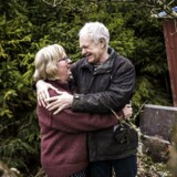 Ægteparret Niels og Lillijan. Efter 20 års skilsmisse fandt de sammen igen og blev gift for 2. gang.