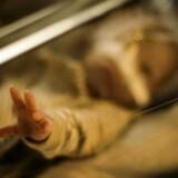 Sofie blev født i uge 30 og vejede præcis 1.000 gram ved fødslen.