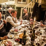 Den Rødes Torsdagsklub - gæster blandt andet politikerne Nick Hækkerup, Henrik Sass Larsen og Henrik Dam Kristensen fra Socialdemokratiet