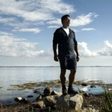 Kim Fournais på sin egen ø Vejrø