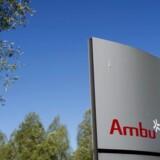 Efter en lang årrække med imponerende kursstigninger på Ambus aktier, er de begyndt at falde i værdi. Bestyrelsesformand Jens Bager solgte for 61 mio. kr., da kursen toppede. Foto: Liselotte Sabroe/Ritzau Scanpix