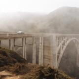 Voldsomme jordskred lukkede i vinteren 2017 Highway 1 for gennemkørsel ved Big Sur. Først i sensommeren 2018 blev den populære kystvej genåbnet. Foto: Visit California