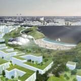 Arkitektfirmaet Urban Power præsenterede i september 2017 den såkaldte Nordhaleøen. Ligesom Lynetteholmen var visionen, at den skulle ligge mellem Refshaleøen og Nordhavn.