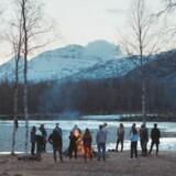 »Reconstructing Utøya« kombinerer autentiske vidnesudsagn med rekonstruktioner af massakren på den lille ø. Foto: Vilda Bomben AB