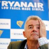 Ifølge Ryanairs topchef, Michael O'Leary, kan SAS eller Norwegian gå konkurs i løbet af denne vinter, der forventes at gøre ondt på en lang række selskaber. De to nordiske luftgiganter afviser, at konkurs skulle være tæt på.