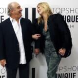 Den britiske detail- og modekonge Philip Green i gladere dage sammen med den tidligere model, Kate Moss.