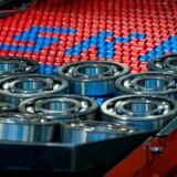 SKFs hovedprodukt er kuglelejer i talrige udformninger.
