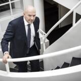 »Vi er kede af at miste enhver kunde. Vi gør så meget, som vi kan, for at række ud til kunderne,« siger Jesper Nielsen, midlertidig topchef i Danske Bank, efter fremlæggelsen af bankens regnskab.