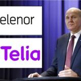 Telenors topchef, Sigve Brekke, åbner for igen at tale mobilfusion i Danmark. Arkivfoto: Tore Meek, EPA/Scanpix, og Scanpix