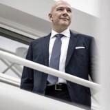 Jesper Nielsen er fungerende topchef for Danske Bank. På hans vagt er det blevet besluttet, at den 1,5 mia. kr. store donation, som banken 18. juli besluttede sig for i kølvandet på hvidvask-skandalen, skal overføres til en lukket konto i en anden bank.