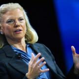 Ginni Rometty, der har været formand og topchef for IBM siden 2012, satser stort med købet af Red Hat, som skal skubbe IBM frem inden for cloud-teknologi. Arkivfoto: Mike Blake/Reuters/Ritzau Scanpix
