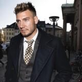 Nicklas Bendtner ankommer til Københavns Byret.