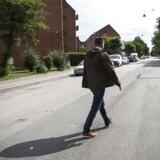 ARKIVFOTO: Medlem af Københavns Borgerrepræsentation, Lars Weiss (S), tager en tur gennem Sigynsgade på Nørrebro.