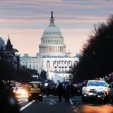 United States Capitol, hvor Kongressen har hjemme. Den 6. november er mange af Kongressens medlemmer igen på valg.