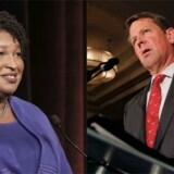Georgias to guvernørkandidater.