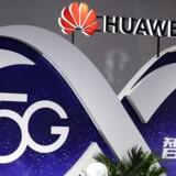 Huawei er verdens største leverandør af mobiludstyr, blandt andet til det kommende 5G-supermobilnet. Arkivfoto: Reuters/Scanpix