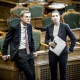 Kristian Thulesen Dahl (DF) og Mette Frederiksen (S) har forpurret regeringens planer om at hæve pensionsalderen. Men partierne er begge med til at hæve danskernes pensionsalder de næste mange år.