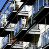 Ejerlejligheder: Priser på lejligheder i København rasler ned. Her lejlighedskompleks på Teglholmen i Københavns Sydhavn.