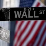 Wall Streets frygtmåler, det såkaldte VIX indeks, steg kraftigt mandag, da teknologiaktier blev sendt mod jorden. Foto: AFP PHOTO/Don Emmert/Ritzau Scanpix