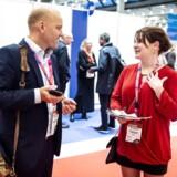Casper Breum fra Lundbeckfonden er på jagt efter fremtidens biotekstjerner på Europas største life science-konference, BIO-Europe, der for første gang nogensinde er nået til Danmark.