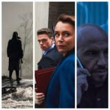 Krigsveteranerne præger både film (som »I Krig & kærlighed« til venstre), streamingserier (som »Bodyguard« i midten) og danske TV-serier (som »Kriger« til højre).