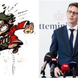 Tegneseriefiguren Iznogoud og skatteminister Karsten Lauritzen er billeder på to meget forskellige ledelsestyper.