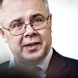 Howard Wilkinson har en travl uge. Den tidligere chef for Danske Markets i Baltikum, der advarede direktionen om tegn på hvidvask i den estiske filial, talte mandag ved en høring i Folketinget. Onsdag taler han for Det Særlige Skattesnydudvalg i Europa-Parlamentet i Bruxelles.