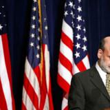 Den daværende amerikanske centralbankchef Ben Bernanke blev verdenskendt for sin massive hjælpepakke i starten af finanskrisen.