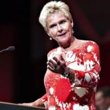 LO med formand Lizette Risgaard i spidsen har indledt en kampagne for bedre dagpenge. Ifølge beskæftigelsesminister Troels Lund Poulsen får man den opfattelse, at dagpengene er til rotterne, men det er forkert. Foto: Henning Bagger/Ritzau Scanpix