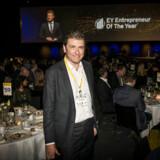Netcompanys ansigt udadtil er adm. direktør og medstifter André Rogaczewski. Her ses han ved sidste års Entrepreneur of the Year, der blev afholdt i Forum.